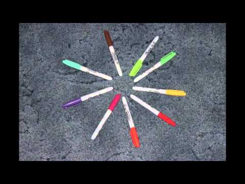 Sharpie Stop Motion Animation