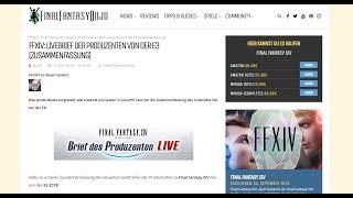 FFXIV: LIVEBRIEF DER PRODUZENTEN VON DER E3 (ZUSAMMENFASSUNG)