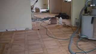 Bringing Old Parquet Flooring Back To Life!!