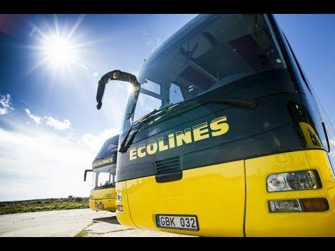 Путешествуем из Минска в Москву автобусом Ecolines