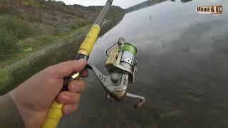 Риболовля Спінінгом. Дністер. На кінець пішов на рибалку.