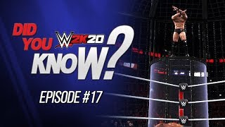 WWE 2K20 Did You Know?: Finishers Off The Chamber, Ambrose Easter Egg & More! (Episode 17)