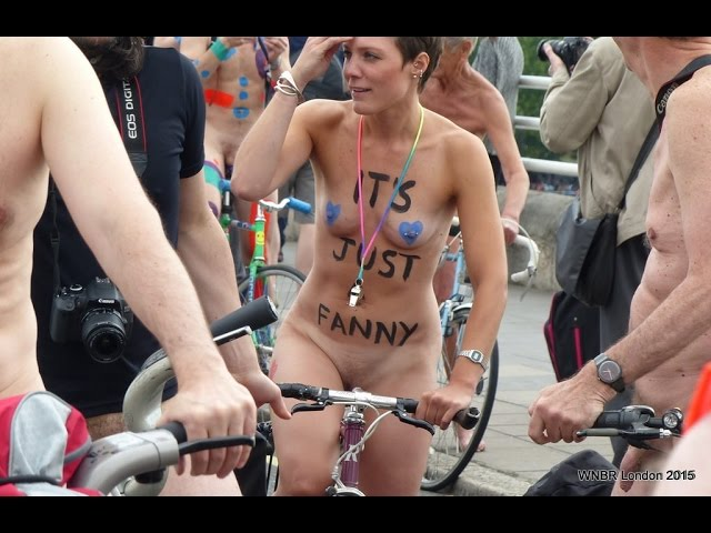 World Naked Bike Ride 2016 LONDON ( WNBR 2016 )