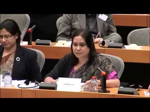 EU Parliament Session about ICT process in Bangladesh