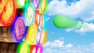 TRAF W ODPOWIEDNIĄ BECZKĘ! (Golf It! #4)