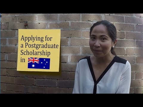 Applying for a Postgraduate Scholarship in Australia
