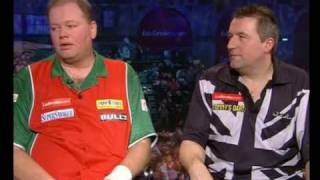 Raymond Van Barneveld & Ronnie Baxter Post Match Interview