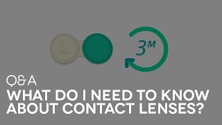 What do I need to know about contact lenses?   SmartBuyGlasses Q&A #11
