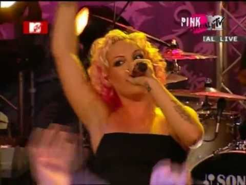 p!nk  pink Get The Party Started Live
