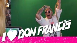 DON FRANCIS @ DISCO CONTACT 2012 HD - DONFRANCIS TV