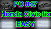 P0847 Fix - 2008 Civic - 3rd Clutch Transmission Fluid