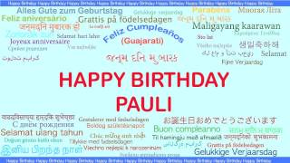 Pauli   Languages Idiomas - Happy Birthday