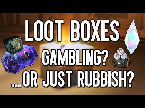 Loot Boxes: Are They A Problem?