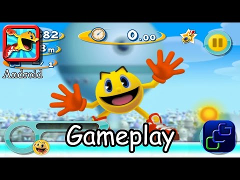 PAC-MAN DASH Android Gameplay Walkthrough