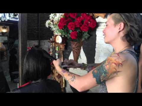 Hair bar Tuấn còi : p2 cắt đầu víc dài