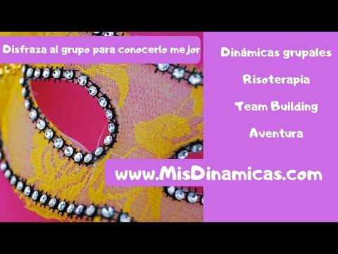 🎭Disfraza al grupo para conocerlo mejor #dinamica #presentacion #emotiva