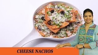 Cheese Nachos - Mrs Vahchef