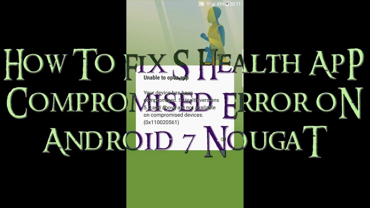S health funktioniert nicht