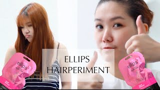 Hairperiment with Ellips Pro Keratin Complex Hair Mask || MICHIMOMO