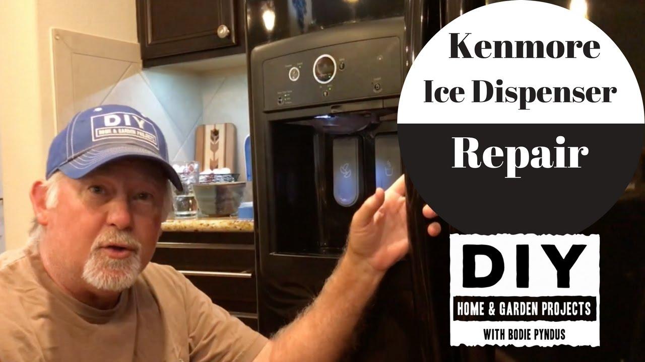 Kenmore Ice Dispenser Repair - YouTube