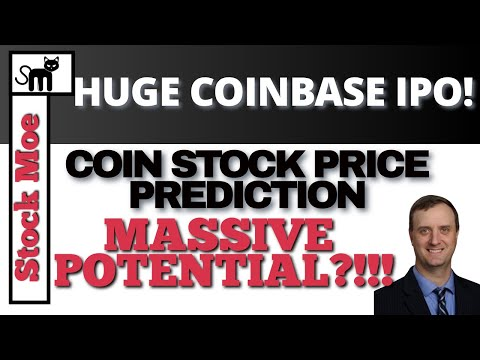 COINBASE IPO STOCK PRICE PREDICTION And MUST SEE COINBASE NEWS and IPO STOCK PRICING