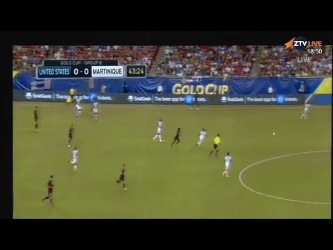 Soccer - USA vs Martinique