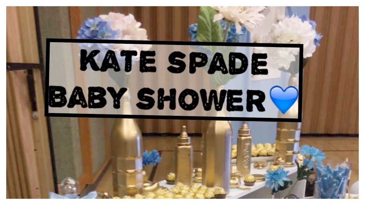 kate spade baby shower vlogtember 109 youtube