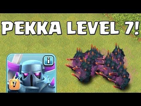 PEKKA LEVEL 7 Gegen Alle! ☆ Clash Of Clans UPDATE ☆ CoC