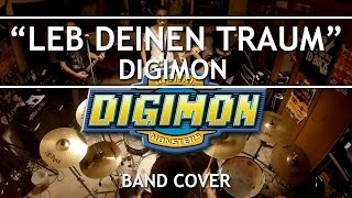 Digimon - Leb Deinen Traum / Butterfly (Band Cover) [with TABS]