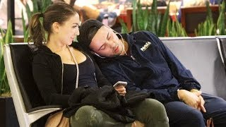 Falling Asleep on People Prank