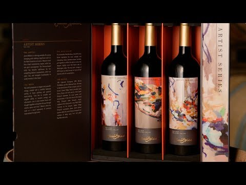 Chateau Ste. Michelle - 2014 Artist Series Red Wine Blend, Columbia Valley