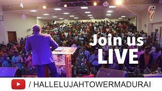 Sunday Service (19 May 2019) | 07:30am(IST) | Hallelujah Tower - LIVE