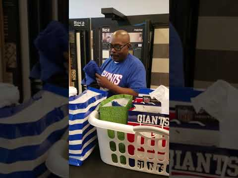HUGE NY Giants fan Father's day surprise party!