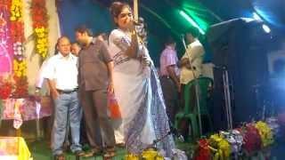 Jhilik(Sreetoma Bhattacharya) visit to Monshadanga SangramiSang for Kali Puja