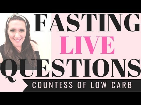 Intermittent Fasting Weight Loss LIVE Q & A 👑