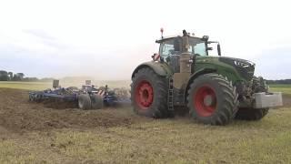 Fendt 1050 vario mit Köckerling Vector 6 20 m das Video