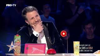 A impresionat cu un nou număr de magie combinat cu stand-up | Magitot - Românii au Talent