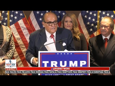 Trump Campaign Legal Team Holds Press Conference in DC 11/19/20