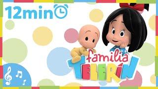 Familia Telerín. Colección Canciones (12 minutos). Canciones Infantiles para Niños.