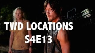 The Walking Dead Locations: Beth & Daryl Take Refuge - Season 4 Episode 13
