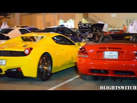 Mawater Gathering in Qatar - 100+ Sports Cars