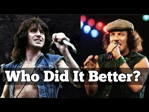 Who Did It Better? Bon Scott vs Brian Johnson | Dave vs Sammy?