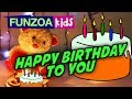 HAPPY BIRTHDAY TO YOU | A Birthday Rhyme For Children By Funzoa Mimi Teddy | Funzoa Kids Rhymes