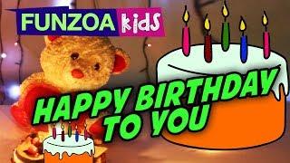 HAPPY BIRTHDAY TO YOU | A Birthday Rhyme For Children By Funzoa Mimi Teddy | Funzoa Kids Rhymes