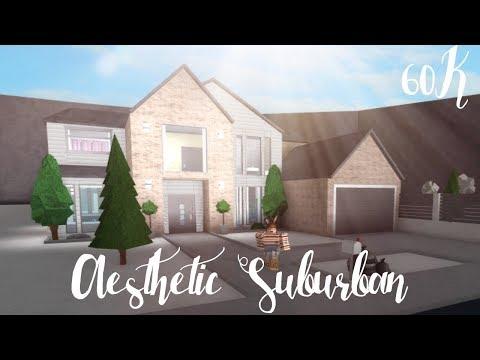 Bloxburg: Aesthetic Suburban House 60K