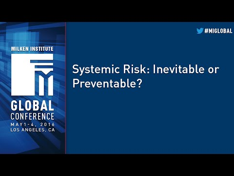 Systemic Risk: Inevitable or Preventable?
