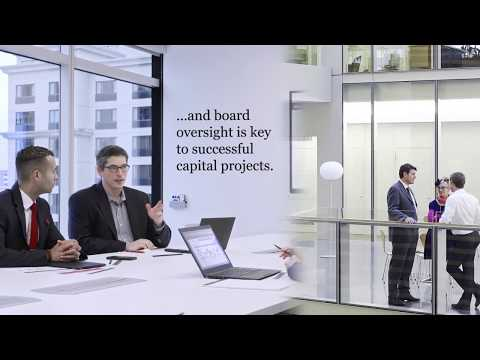 Board oversight of capital projects