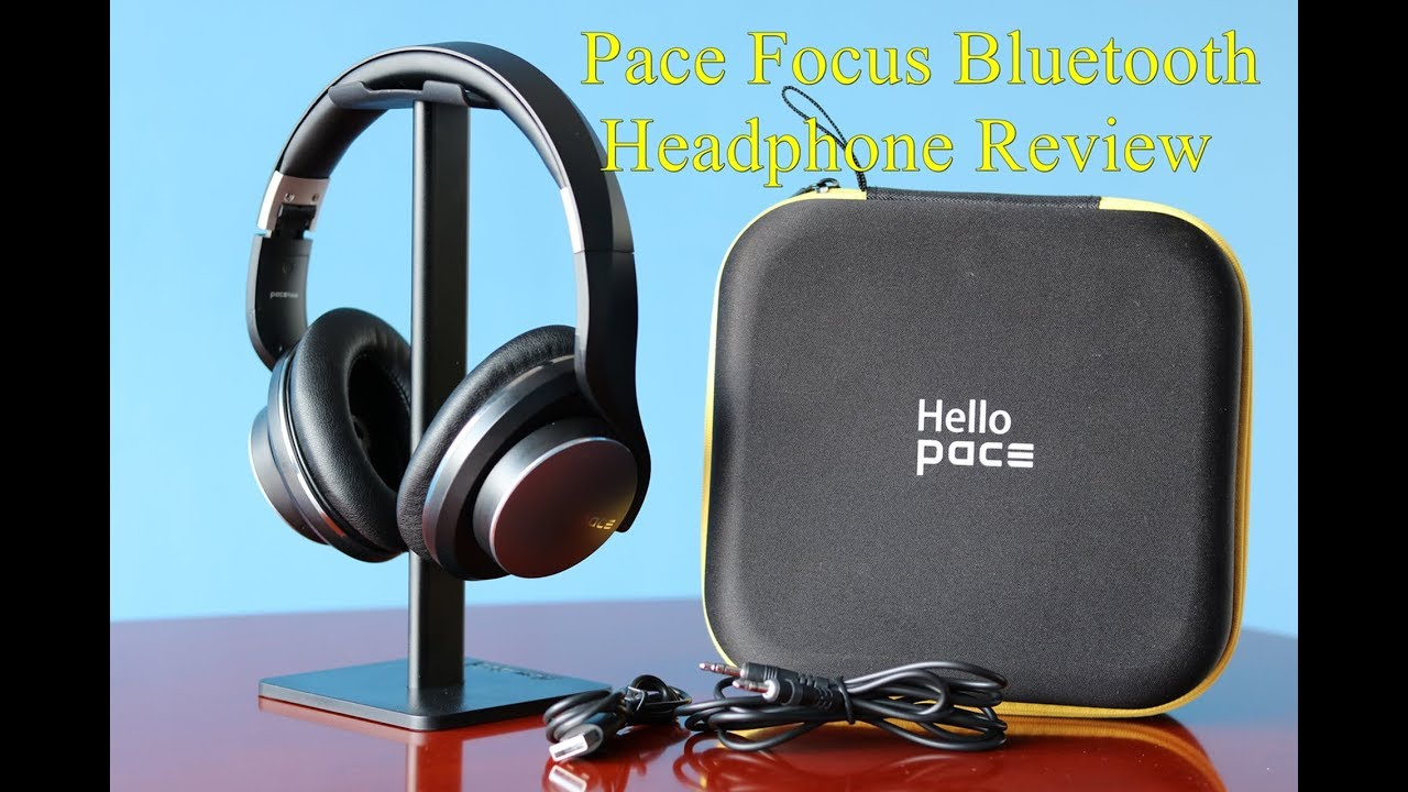 Pace Focus Bluetooth Headphone Review - YouTube