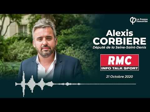 """""""La laïcité ce n'est pas la police des assiettes !"""" Alexis Corbière sur les propos de Darmanin (RMC)"""