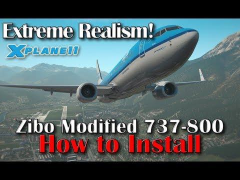 X-plane 11 | Amazing Realism | Zibo Modified Boeing 737-800